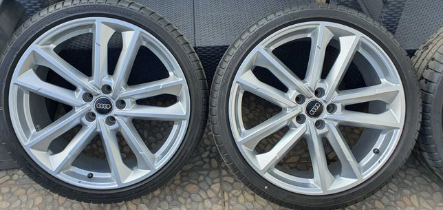 Felgi aluminiowe z oponami komplet orginał Audi Sport S6 C8  R21