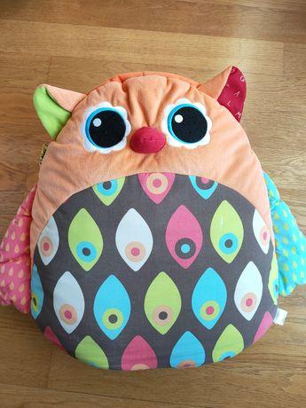 Musical Owl Sofa Grająca Sowa poducha