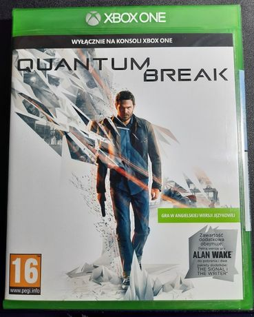 Nowa gra QUANTUM BREAK + ALAN WAKE na konsolę XBOX One