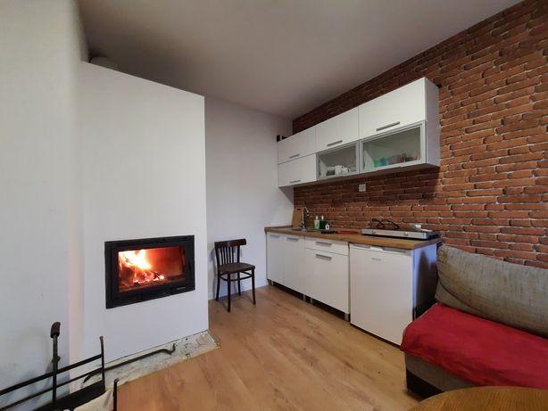 Domek mieszkanie bezczynszowe z dużą działką, segment
