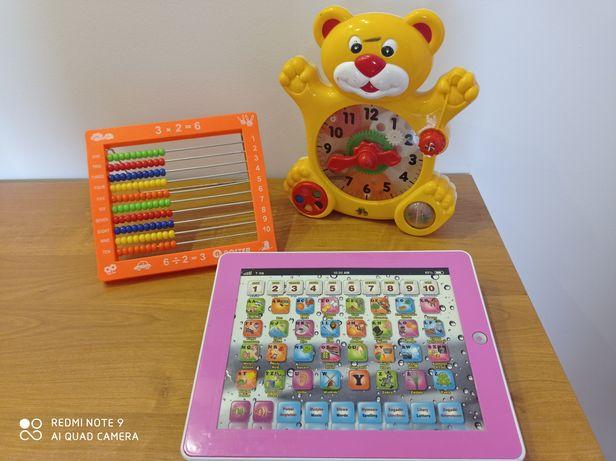 Liczydło, Zegar i Tablet na nauki