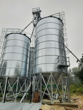 Silosy, silos lejowy 108 ton, producent Kbks Poland