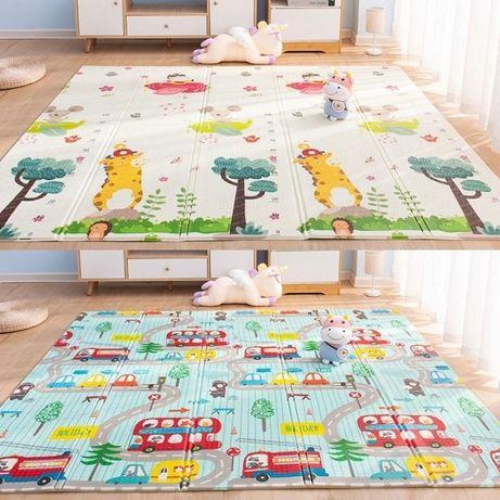 Детский термоковрик коврик бебипол коврик для ползанья 180*150,180*200