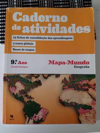 Caderno de atividades/ Bloco do geógrafo: Mapa-Mundo (9ano)