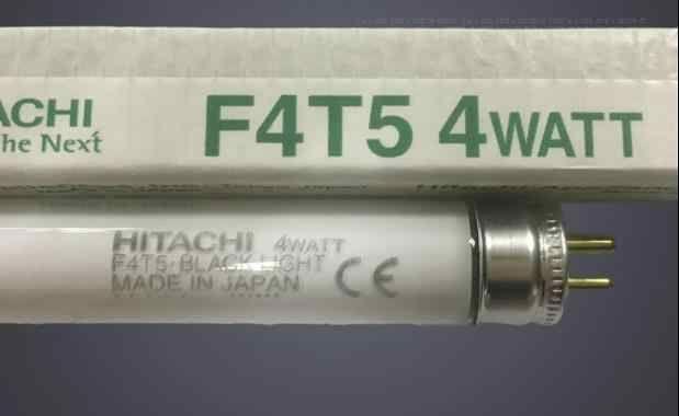 lampada hitachi F4T5 4watt Black light