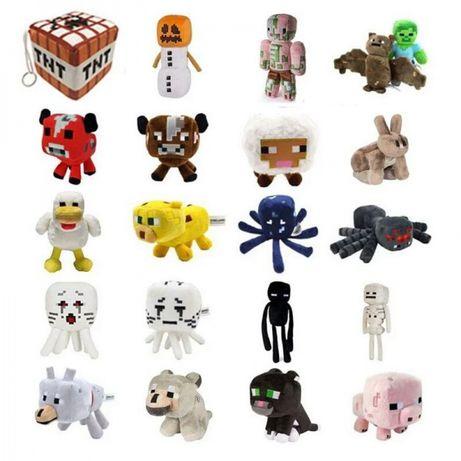 Майнкрафт игрушки Мягкие Большой выбор от 15 до 28 см
