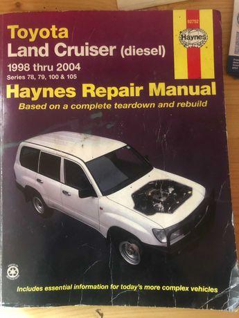 Ksiazka Napraw - Toyota Land Cruiser 100 (Diesel)