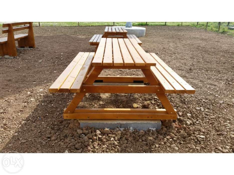 bancos e mesas de jardim Madeira&Conforto