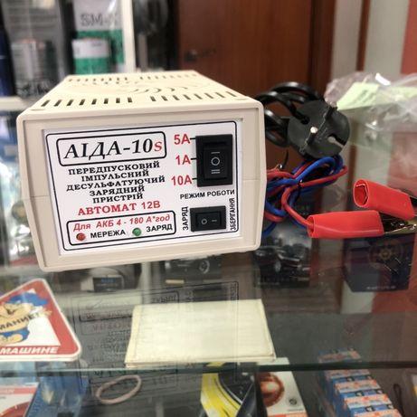 Зарядное устройство для АКБ «АИДА-10s» 12В АКБ 4-180А*час