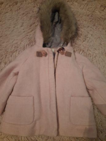 Пальто утепленное zara