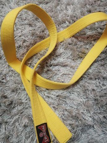 Kimono  Pas do karate żółty