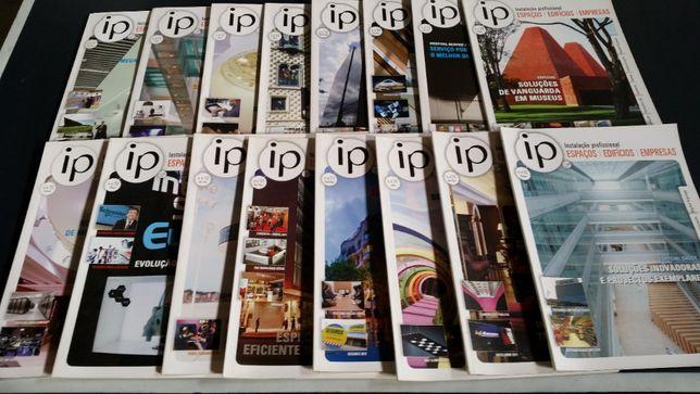 Lote Revistas IP (Instalações Profissionais)