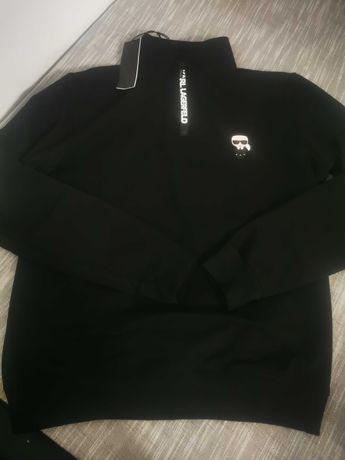 Bluza ze stójką Karl Lagerfeld