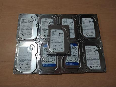 Discos 3.5 (para torre) 250GB a 100%