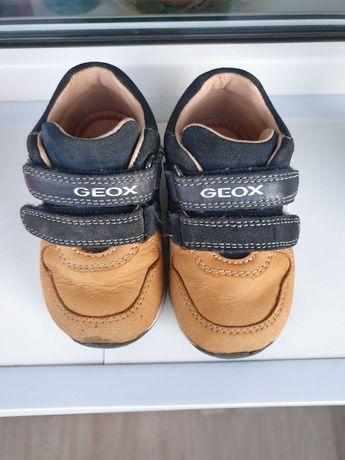 Geox - Ботинки детские / оригинал /натуральная кожа 20р.