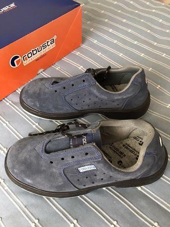Sapatos de biqueira de aço Tam. 41 Robusta Scientific Footware - NOVO
