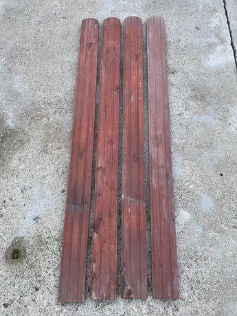 Sztachety sztachetki drewniane