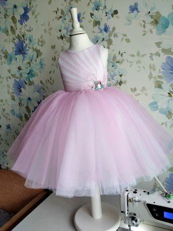 Платье, сукня, розовое, рожеве, нарядное, утренник, пышное