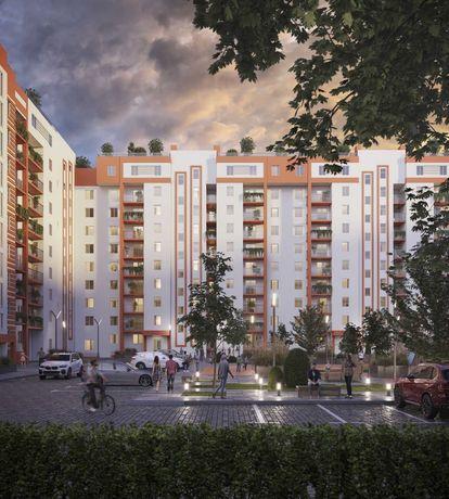 1 комнатная квартира от застройщика ЖК Апельсин сдача 2 квартал 2022
