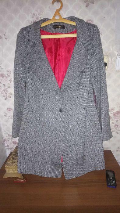 Пальто весна -осень серое Дзержинск - изображение 1