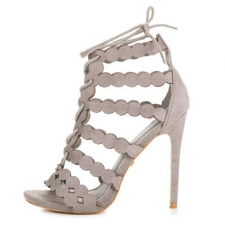 Sandałki szare 38