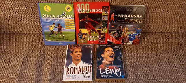 Książki dla fana piłki nożnej