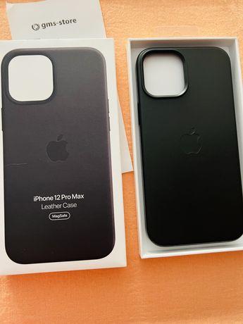 Capa iPhone 12 Pro Max em Pele.MagSafe. Nova.Origem Appel.