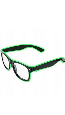 Podświetlane okulary  Led