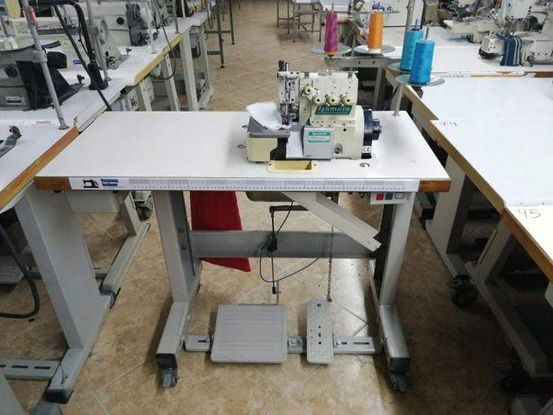 Maquina corte cose Yamato 4 fios com corte de linha
