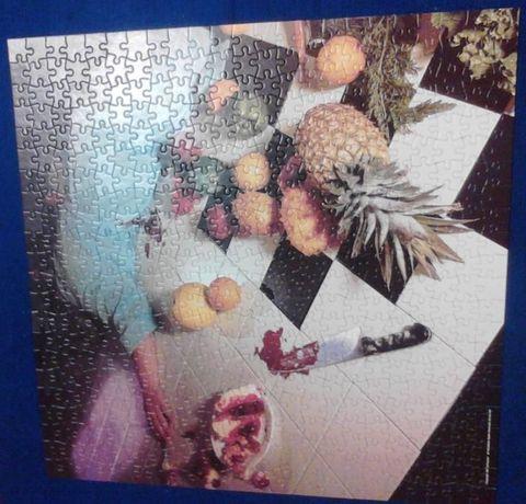 Puzzle 500 elementów Morderstwo brak opakowania