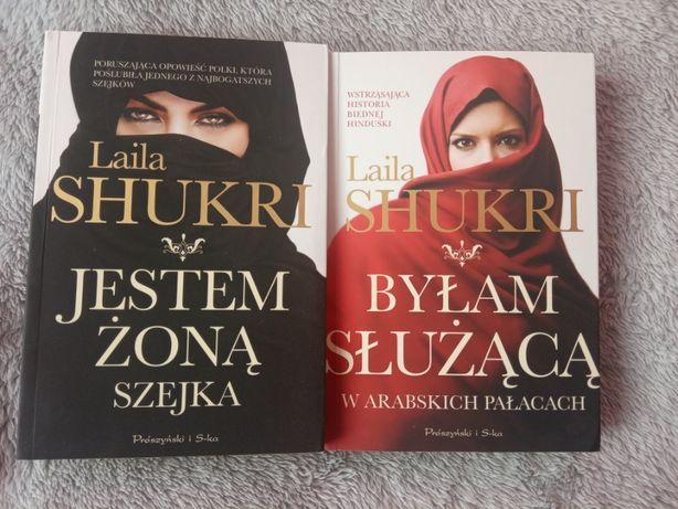 Laila Shukri - dwie książki