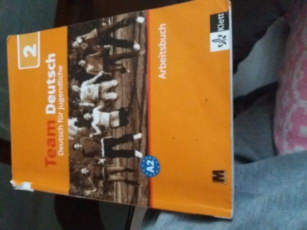 Книжка з німецької мови Team Deutsch (Arbeitsbuch)