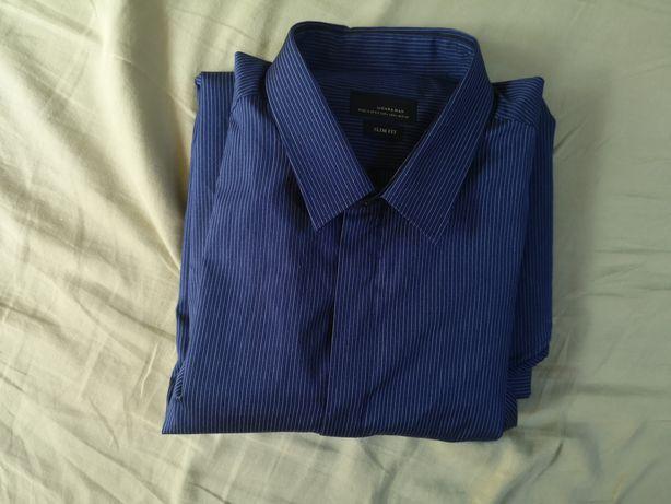 Koszula Zara rozm. 42 Large Slim fit