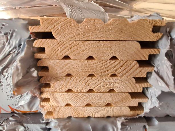 Podbitka świerkowa boazeria nadbitka drewniana 14x 121 softline