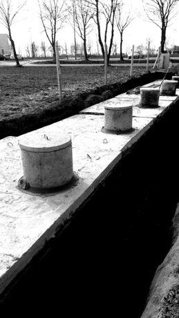 Zbiornik na gnojówkę gnojowice gnoj szambo odchody betonowe 4000 l