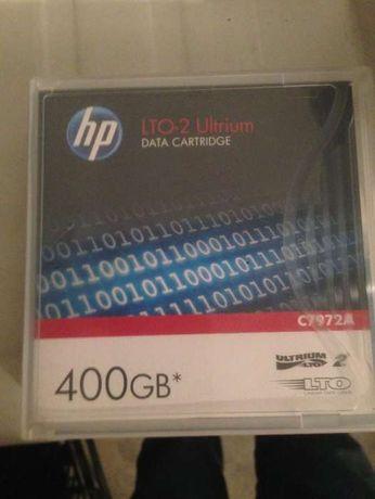 1 HP LTO-2 Ultrium Data Cartridge (TAPE) 400GB - Novo (Porto/Aveiro)