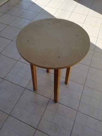 Mesa redonda - camilha