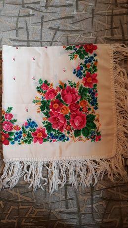 Новый шерстяной 100% платок
