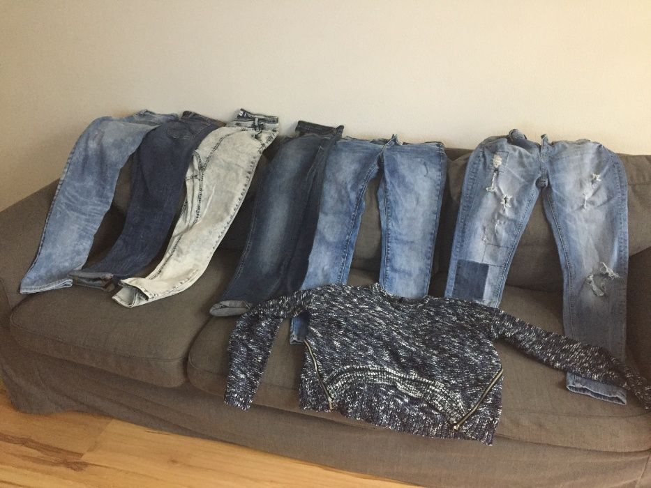 Spodnie damskie rz36 skinny Skierniewice - image 1