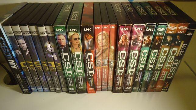 DVD series do CSI