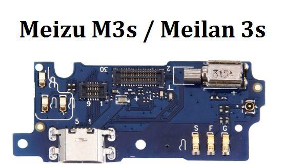-Разъем зарядки и микрофоном Meizu m3 mini micro usb--
