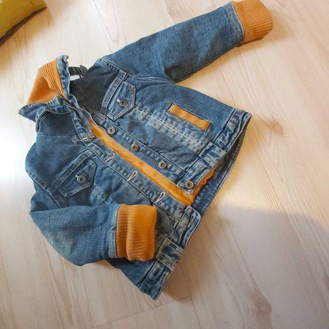 Курточка ,джинсовая 2/3года