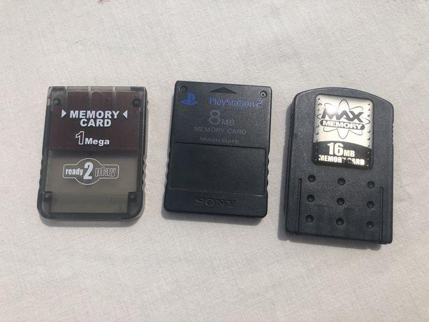 Cartões de memória PS2 / Playstation 2