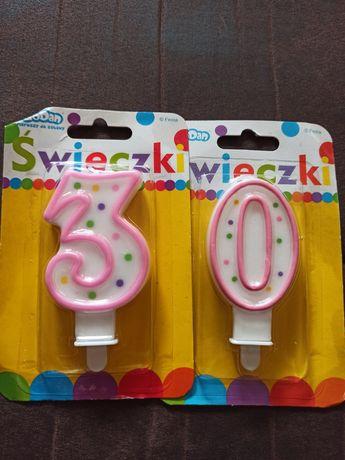 Nowe świeczki do tortu 30