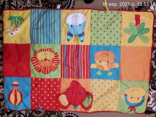 Дитячий ігровий розвиваючий коврик Mothercare 90*145 см детский