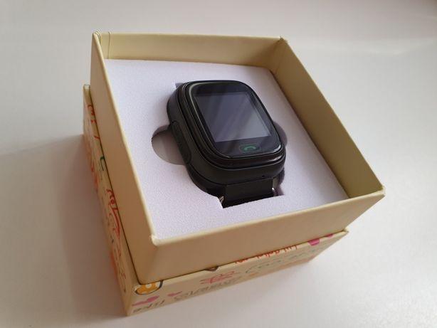 Детские умные смарт-часы q90 с поддержкой SIM-карты