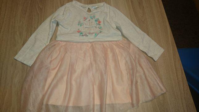 sukienka z tiulem r 80