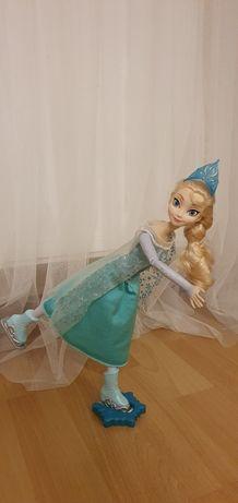 Lalka Elsa na łyżwach
