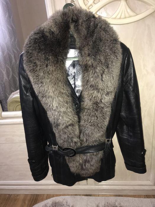 Демісезонна курточка (натуральна кожа) Угля - изображение 1