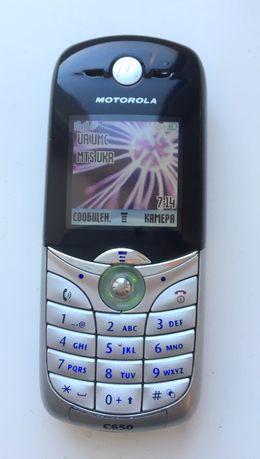 Motorola C650 (как новый) кнопочный телефон